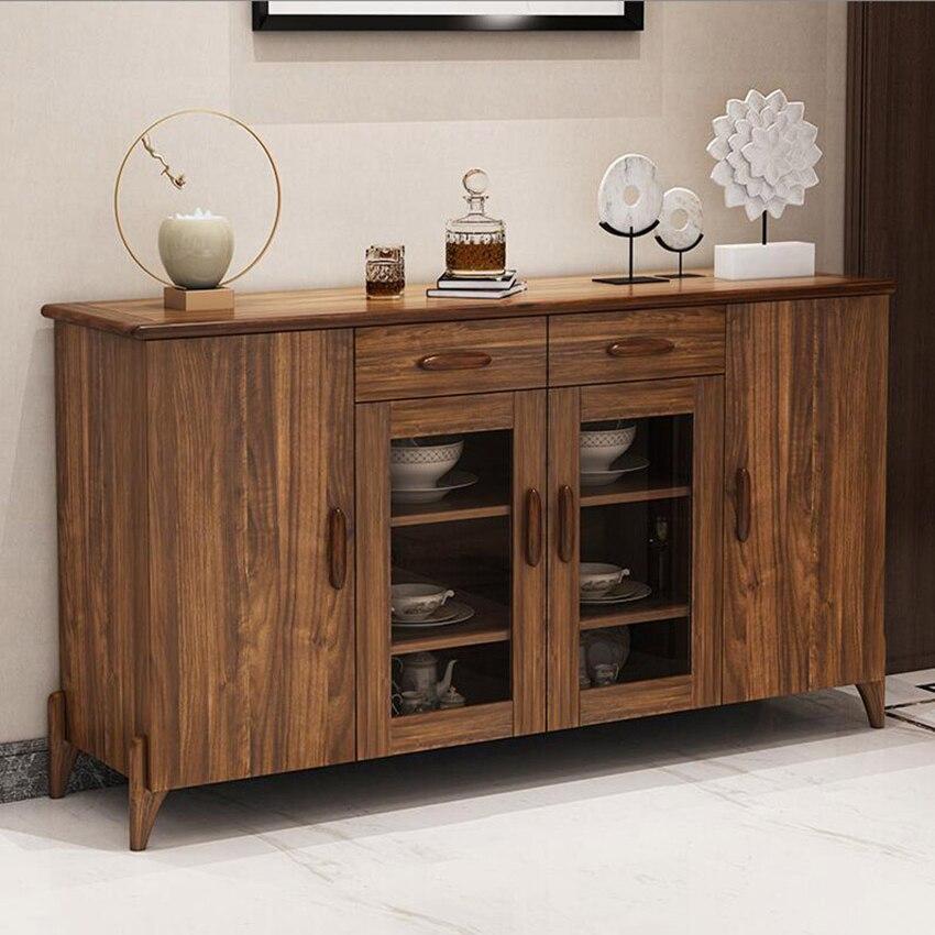 H07/08/09/10 armoire multifonction Style chinois salon petites armoires en bois cuisine Simple armoires de ménage offre spéciale - 2
