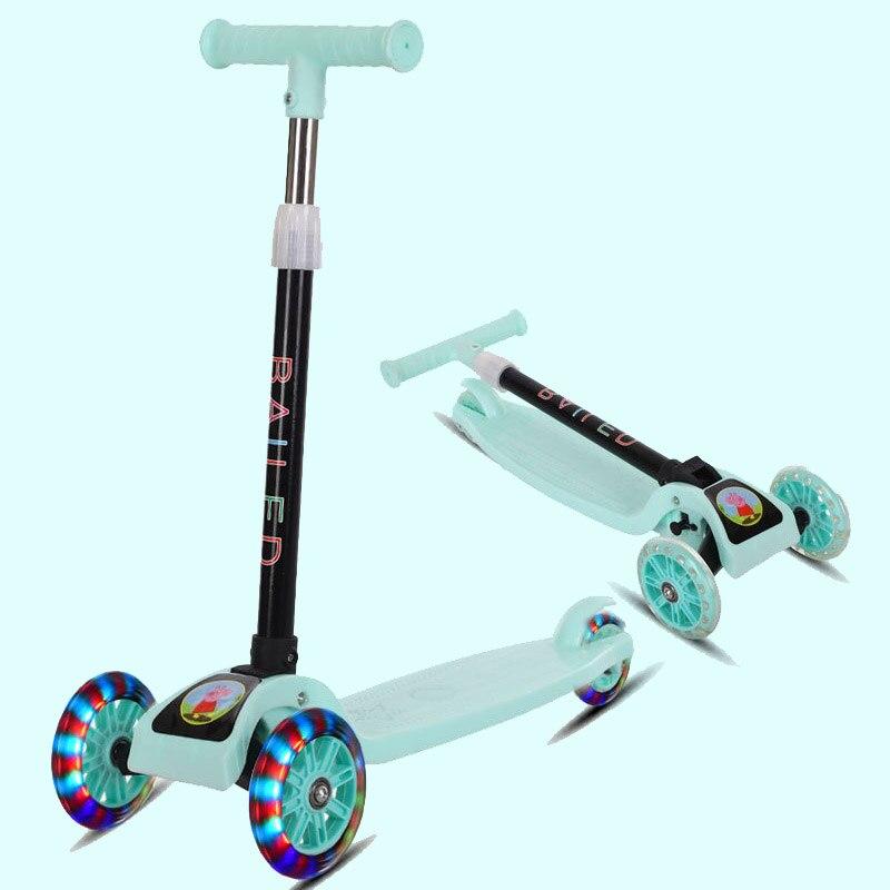 100% QualitäT Outdoor Kinder Roller 2-3-5-6-7-8-9 Jahre Alt- Roller Ideales Geschenk FüR Alle Gelegenheiten