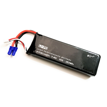 Original Hubsan H501C H501S X4 7.4V 2700mAh lipo battery 10C 20WH battery For RC Quadcopter Drone Parts 3