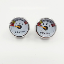 Banyak PCP Paintball 3500psi Mini Micro High Pressure Gauge Manometer 1 / 8bsp benang