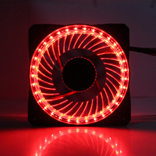 CoolerAge 32 Lights LED Silent 120mm Fan PC Computer Chassis Fans Case Heatsink Cooler Cooling Fan Red  Green  Blue  White Fan