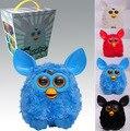 Venda quente 1 pcs Inglês Falando Brinquedos Eletrônicos Falando Elfos Firbi Pelúcia Crianças Brinquedos Interativos Inteligente brinquedos Furbiness Boom