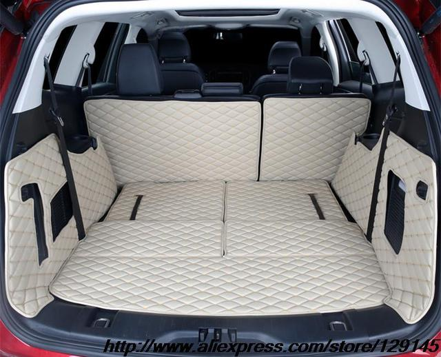 All Surround Car Trunk Mat For Ford Edge D Tpexpe Anti Slip Leather