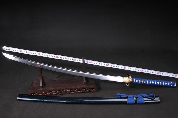 Катана самурай японський меч 60si2mn - Домашній декор - фото 6