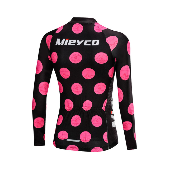 Mieyco Long Sleeve Jersey Women Bike Shirt Reflective Cycling Jersey Breathable Cycling Shirt MTB Jersey Maillot Ciclismo 1