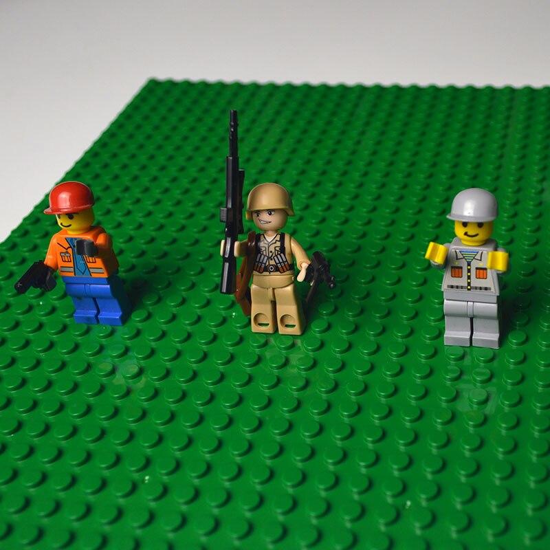 kazi Classic Base Plates Plastic Bricks Baseplates Compatible Legoe Major Brands Building Blocks Construction Toys 32*32 Dots 1