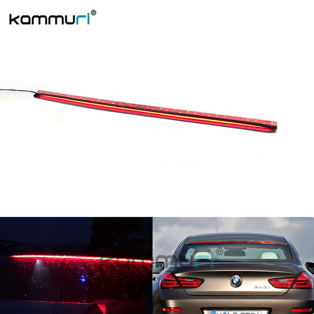 US $106 0 |Universal 36 Inch Roofline LED Third Brake Light Kit Above Rear  Windshield For Audi A6 A7 For BMW 6 Series, Car Styling KAMMURI -in Signal