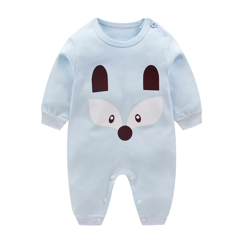 Spring Autumn Baby clothers   Rompers   1 to 12M Kids Newborn Infant Cotton Jumpsuit Baby Boy Girl Clothing