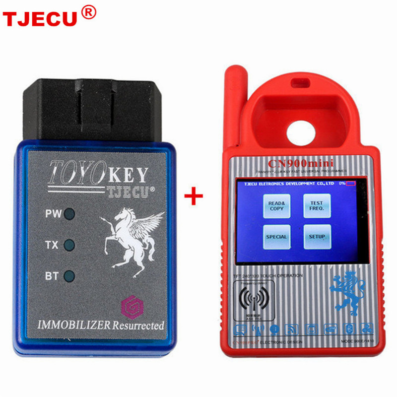 TOYO KEY OBD II KEY PRO Support All Key Lost For Toyota G & H Plus CN900 MINI TOYO KEY original obdstar f101 for toyota immo g reset tool support g chip all key lost free update via tf card f101 obdstar free ship