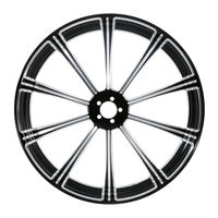 Motorcycle 23 x 3.5 CNC Front Wheel Rim Dual Disc For Harley Touring Choppers Baggers