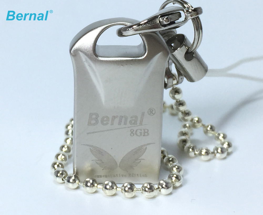 Bernal pendrive FLASH MEMORY DISK 128MB 8 GB 16 GB 32 GB 64GB high speed metal usb flash drives pen drive free shipping