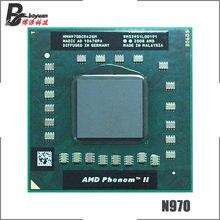 AMD Phenom II Quad-Core Móvel N970 Processador CPU de 2.2 GHz Quad-Core Quad-Thread HMN970DCR42GM Tomada s1