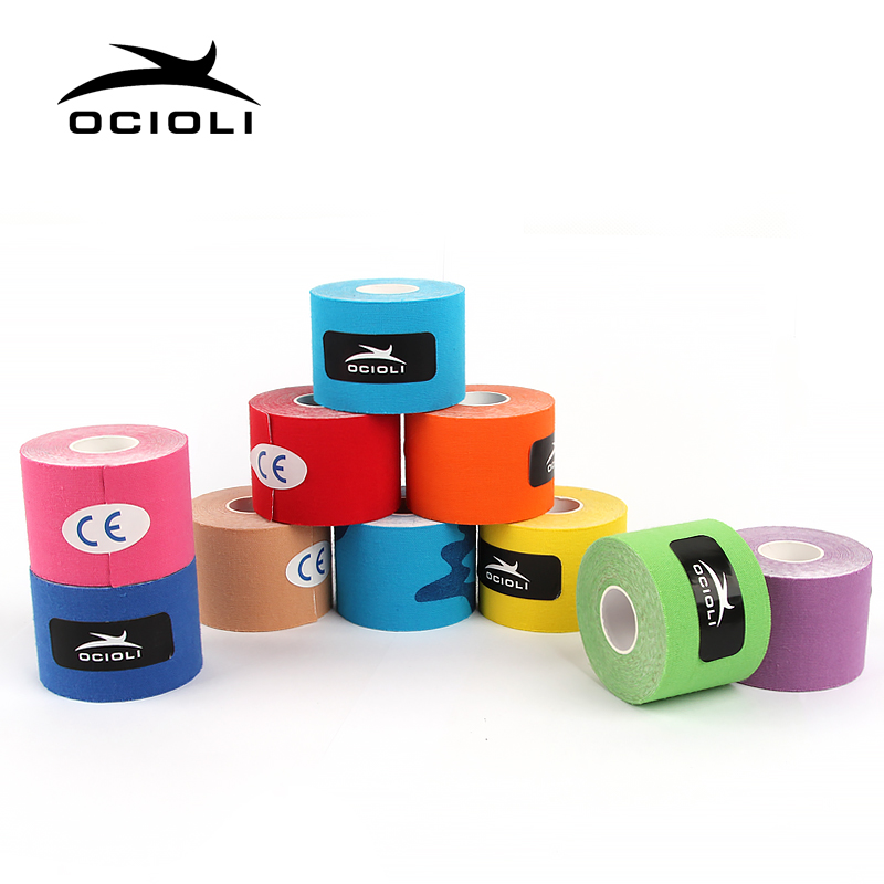 15 Rolls Elastic Cotton Kinesiology Kinesiotape Adhesive Muscle Physio Cure Injury Support Active Nastro Kinesiologia Sport
