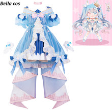 VOCALOID Hatsune Miku cosplay costume winter Miku lolita dress Carnival  Halloween costumes for women Anime clothes fa2003022bcc