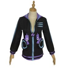 2018 Hyperdimension Neptunia Neptune coeur violet Otaku Cosplay sweat à capuche(China)
