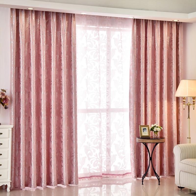 European Luxury Double Jacquard Valance and Curtain Customization ...