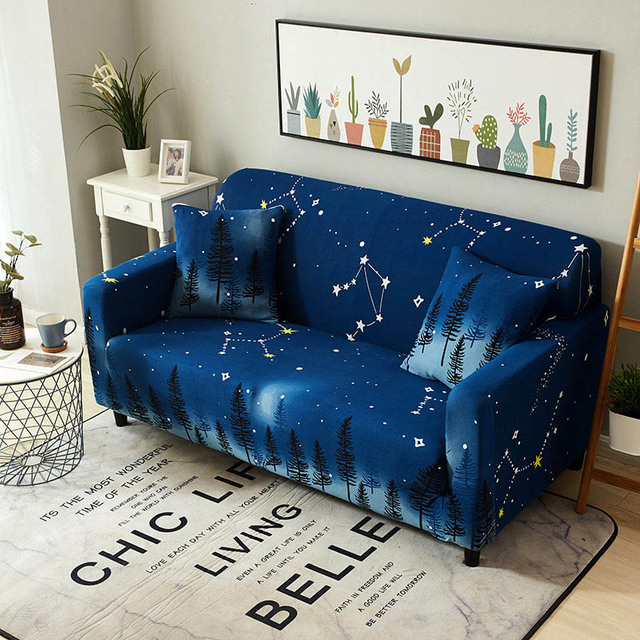 Sofa Cover Stretch Couch Cover Elastic Cover