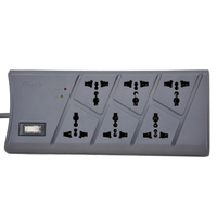 TOWE AP 1026S Surge Protection 6 Ways GB2099 3 Universal 2meters ON OFF Switch Surge Protector