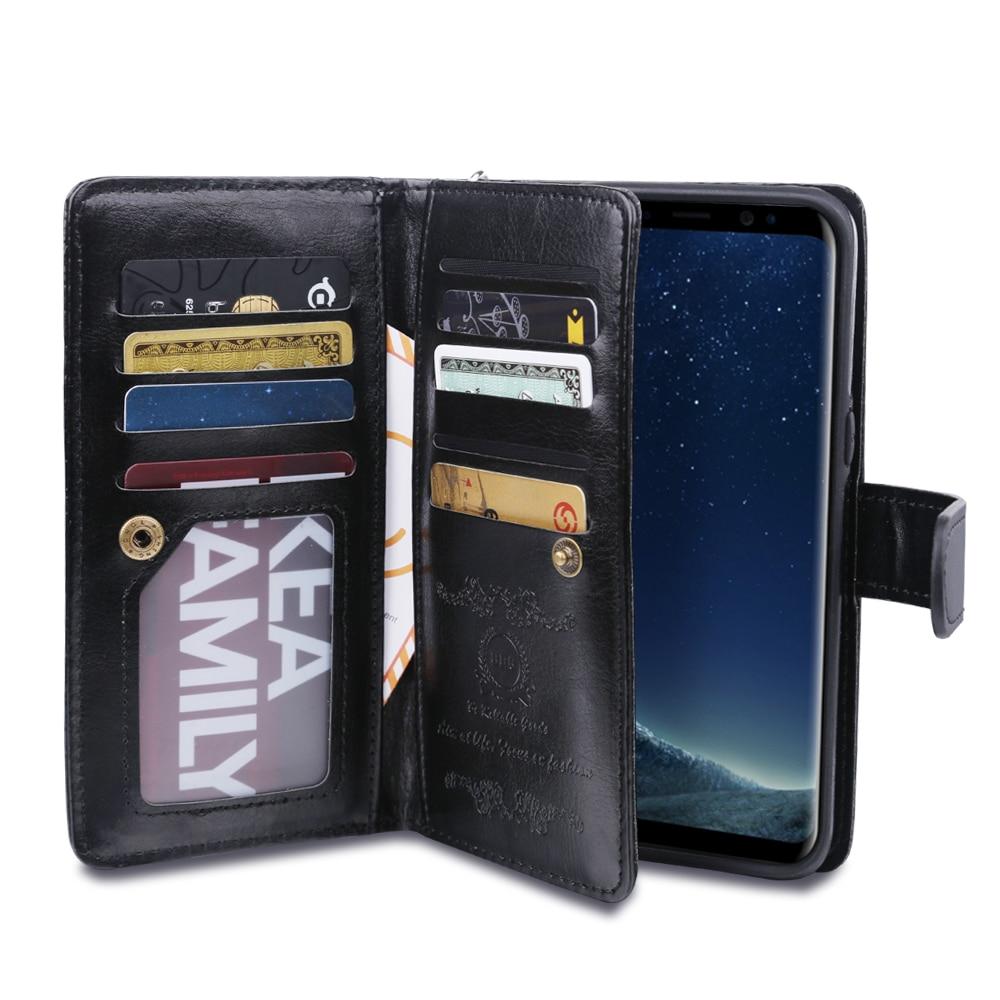 LANCASE շքեղ դրամապանակի հեռախոսների - Բջջային հեռախոսի պարագաներ և պահեստամասեր - Լուսանկար 4