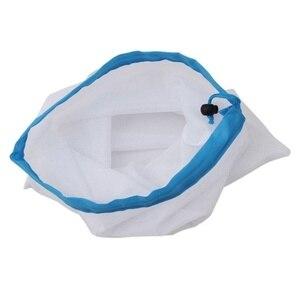 Image 2 - 3+6+3=12 Pcs Reusable Grocery Shopping Bag Adjustable Nylon String Bag Fruit Vegetable Storage Mesh Produce Kitchen Storage Bags