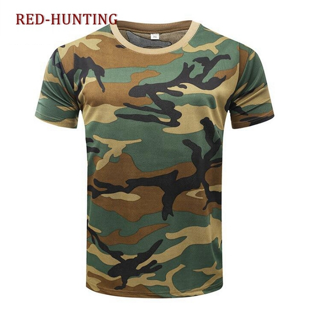 Aliexpress com : Buy Military Short Sleeve Tee Army Camouflage Tactical  Uniform T shirt Mens Outdoor Hiking T Shirt from Reliable Hiking T-shirts