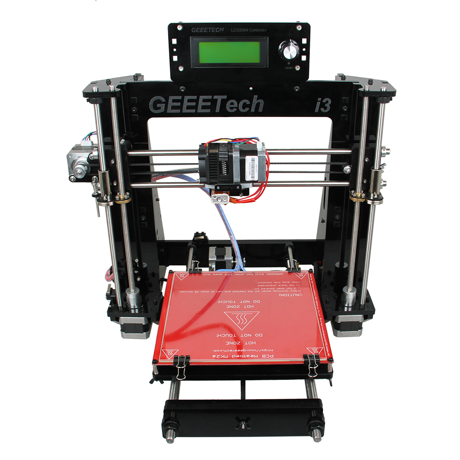 Geeetech 3D Printer Pro I3 Acrylic Frame Desktop DIY Printing Machine Impressora Kit LCD2004