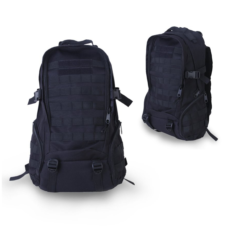 5Set Sale 35L outdoor backpack camping hiking mountaineering bag Black