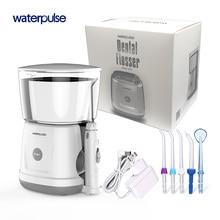 hot deal buy waterpulse v700 oral portable water flosser orrigator dental water flosser oral hygiene water oral irrigation with dust cover