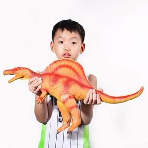 Image 3 - Wiben Jurassic ใหญ่ไดโนเสาร์ Spinosaurus ของเล่นพลาสติกสัตว์แอ็คชั่นและของเล่นตัวเลขเด็กของเล่นสำหรับเด็กผู้หญิงเด็กชาย