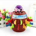 Pirate games Pirate Sword cask barrel plug uncle stab pirate bucket toy crisis toys