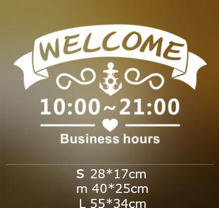 Online Shop Sevimli Kapi Cam Pencere Hos Geldiniz Etiket Ozel Is