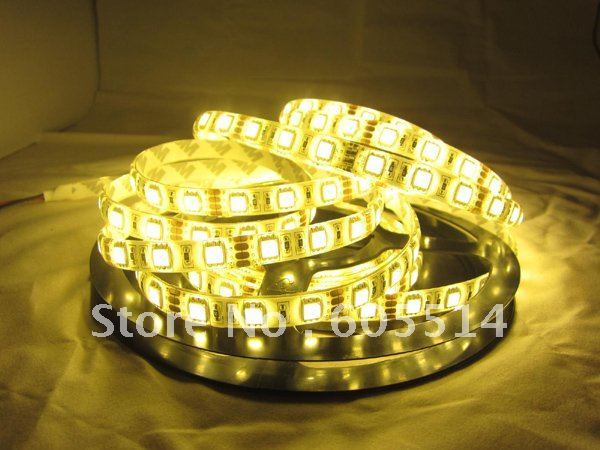 [Seven Neon] Christmas warm white waterproof 60leds/meter 300leds/rool 5050 led smd strip