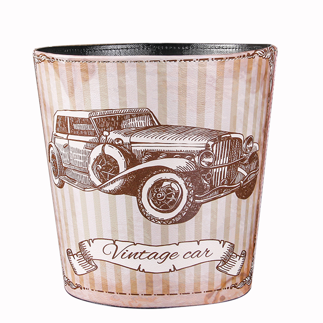 6 Patterns British Style Trash Bin Household Uncovered