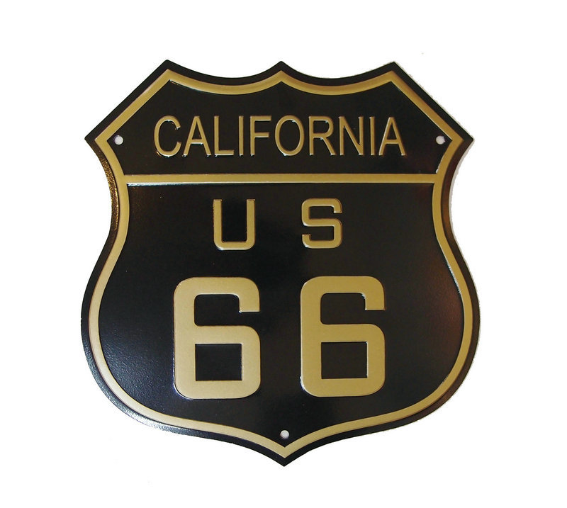 U.S. ROUTE 66 Wall Decoration Vintage Metal License Plate Art Bar Home Restaurant Decor Metal Tin Signs