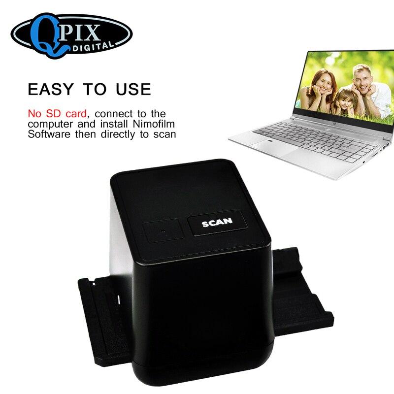 Scanner de Film haute résolution numérisation et Capture 17.9 méga Pixels 135 convertisseur de Film et de diapositives 35mm Scanner de Film négatif - 4