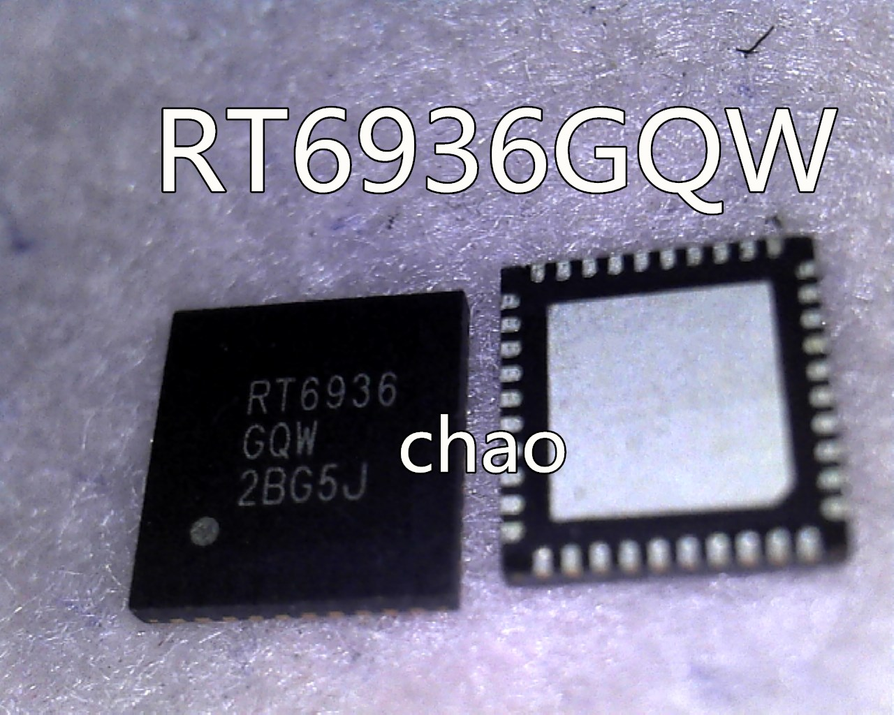 RT6936GQW RT6936 QFN