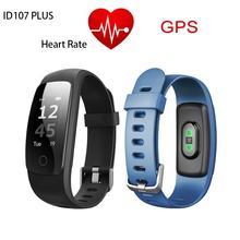 Itek id107 plus hr Bluetooth Smart Band Heart Rate Fitness Track Veryfit 2.0 app sport Wristband pk xiaomi band cicret Bracelet