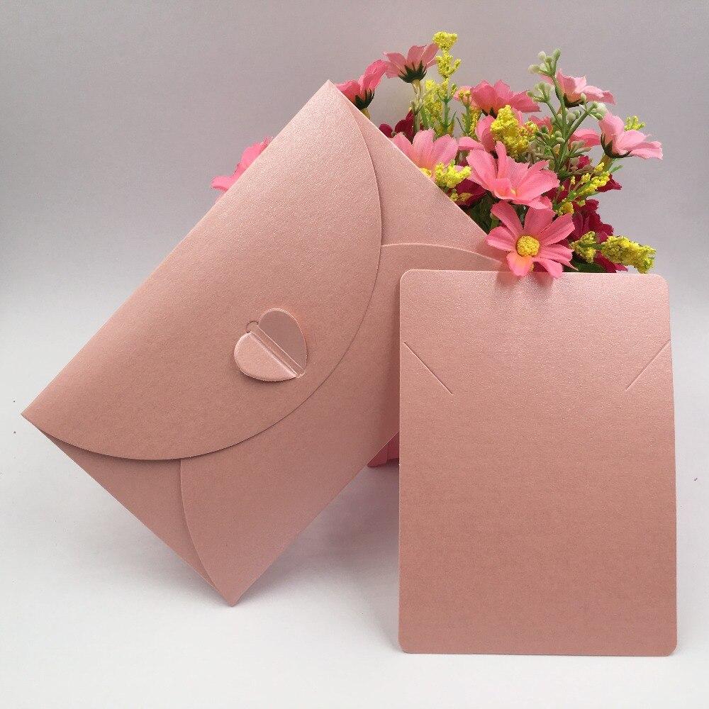 100 세트 크리 에이 티브 봉투 접어 꽃 봉투 가방 웨딩 약혼 선물 사랑 보석 목걸이 장식 포장-에서보석 포장 & 디스플레이부터 쥬얼리 및 액세서리 의  그룹 2