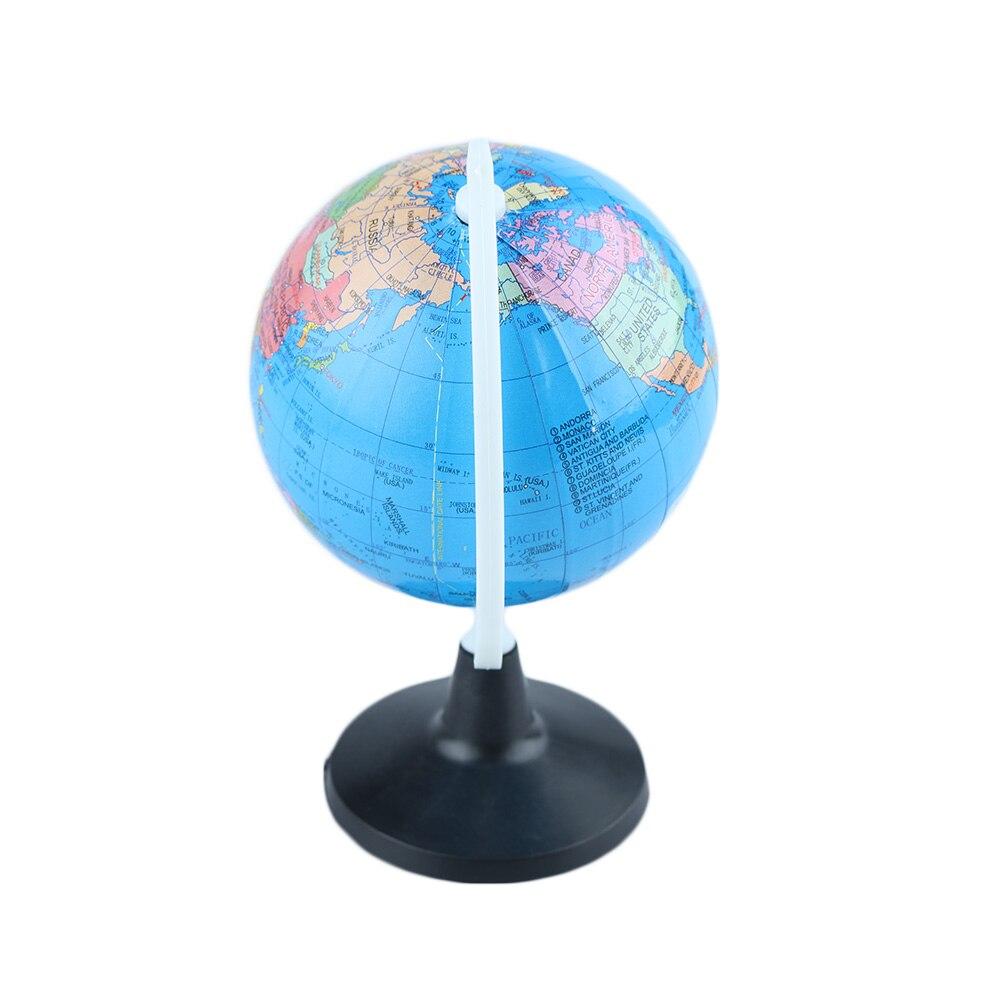 85 мм Глобус мира Атлас карта с поворотной подставкой география обучающая игрушка для дома и офиса миниатюры подарок студенческие учебные инструменты