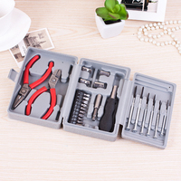24pcs Portable Double Pliers Screwdrivers Mufti Function Repair Tool Set Combination Household Appliances Multitool Tools Kit