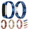 Reloj de lujo Genuino de la Alta Calidad bandas Correa de Reloj Pulsera de oro rosa de 14mm de Acero Inoxidable Para Fitbit Alta Tracker correas