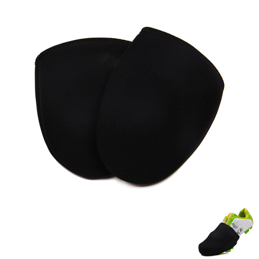 New Cycling Equipment 1 Pair Black Outdoor Bike Sport Shoe Toe Cover Protector Overshoes Quality Bicycle Shoes Covers Wholesale