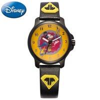 Super Flying Mickey Mouse Cartoon Children Dream Watch Boy Cool Fashion Casual Quartz Watches Cute Love Hopes Disney 14015 Clock