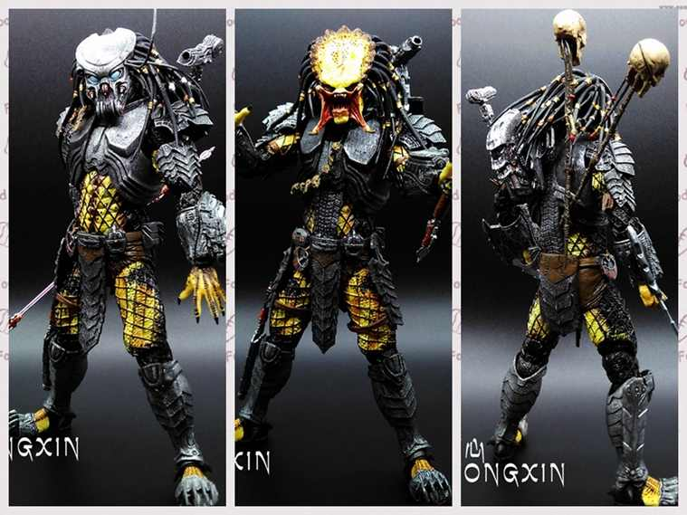 "Neca Predator Klasik Predator 25th Anniversary Jungle Hunter Action Figure Collectible Model Toy 8 ""20 Cm"