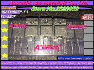 Image 3 - 100% חדש מיובא מקורי FFPF10U60DN F10U60DN כדי 220 30ETH06FP F3 30ETH06FP TO 220F טרנזיסטור