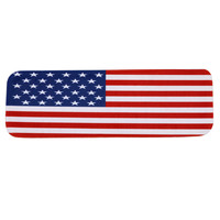 Independence Day 5Pcs StepBasic Non Slip Coral Fleece Resistant Carpet Stair Mat Flag printed stair mat Stair mat