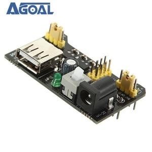 Image 5 - 10Pcs/lot MB102 Breadboard Module Adapter Shield Power Module 3.3V/5V For DIY MB 102 Free Shipping