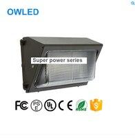 Công suất cao 50 Wát 60 Wát 80 Wát 100 Wát LED Treo Tường Đóng Gói Ánh Sáng Nhà Ở Ngoài Trời Chiếu Sáng Lịch Thi Đấu