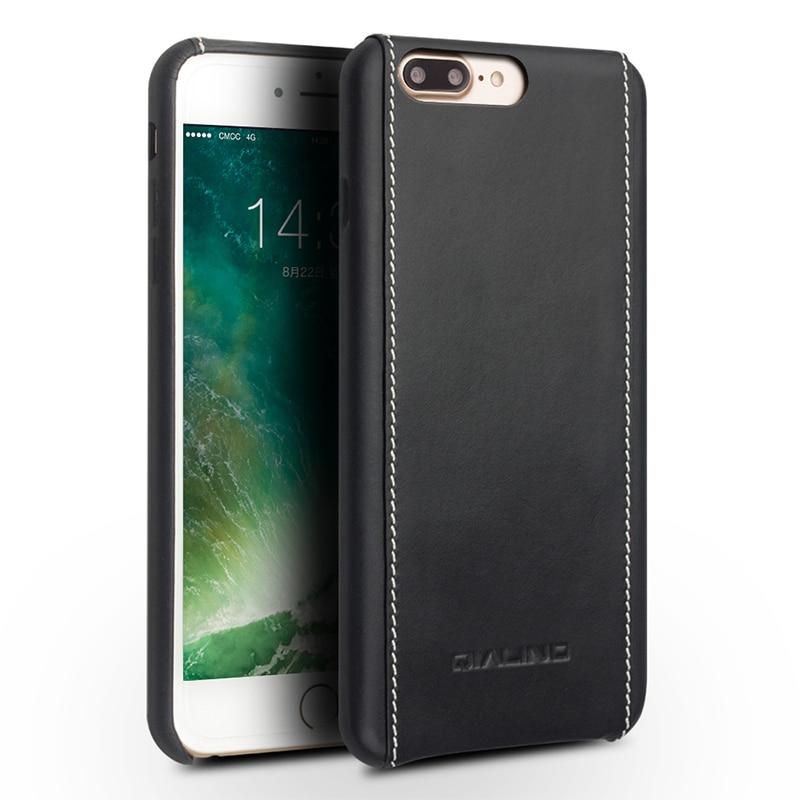 Θήκη QIALINO για iphone 8 plus πολυτελές μόσχο - Ανταλλακτικά και αξεσουάρ κινητών τηλεφώνων - Φωτογραφία 6