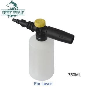 Image 2 - 750ml lavor lavadora de alta pressão espuma neve lança espuma canhão para lavorwash carro auto acessórios